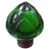 แก้วนาคาสัญฐานดอกบัว (สีเขียว)
