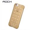 ROCK เคส IPhone 6 ซิลิโคน TPU สีทอง ลายตาราง นิ่มมือ สวยหรู ส่งฟรี