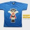 T-Shirt เสื้อยืดเด็ก เสื้อยืดกันดั้ม Jetter Mars เจ็ตเตอร์ มารุส เจ้าหนูจอมพลัง (Zaku II) สุดเท่ห์ สีฟ้า จากร้าน GUNZU เสื้อยืดเด็ก!! Asia Street Fashion