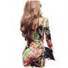 Nina เสื้อเดรสตัวยาว แต่งคอวี เสื้อแขนกุด Poppy Girl Black & White classic sleeveless dress
