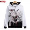 Preorder เสื้อกันหนาวฮู้ดมีซิป Tokyo Ghoul ver 13