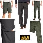 Jack Wolfskins Light Weight Cargo Zip Off Pants