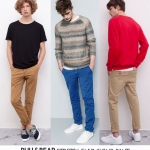 PULL & BEAR STRETCH SLIM CHINO PANT ( มาเพิ่ม 18-06-58)