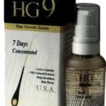 HG9 Hair Growth Serum เซรั่ม ปลูกผม คิ้ว จอน หนวด (สูตรใหม่จากอเมริกา)