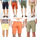 DOCKERS ALPHA SLIM SHORTS