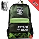พร้อมส่ง กระเป๋าเป้สะพายหลัง Attack on titan ผ่าภิพพไททัน