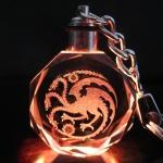 Preorder พวงกุญแจไฟคริสตัล Game of Thrones Targaryen ทาร์แกเรียน