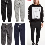 H&M SWEATPANT - FLEECE