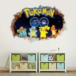Preorder วอลเปเปอร์ 3D Pokemon Go ขนาด1เมตร