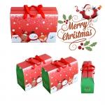 กล่องหูเชือก Christmas - Santa & Snowman