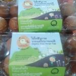 ไข่ไก่อินทรีย์เบอร์ 5 อุดมชัยฟาร์ม (10 ฟอง)