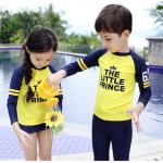 ชุดว่ายน้ำสีเหลือง