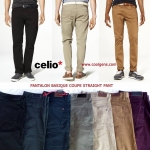 CELIO PANTALON BASIQUE COUPE STRAIGHT PANT