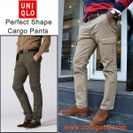 Uniqlo men's perfect shape cargo pants