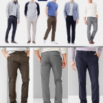 GAP Tailored Khakis Pants Slim Fit & Straight Fit
