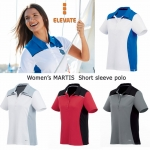 Elevate Women's Martis Short Sleeve Polo