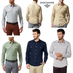 DOCKERS ALPHA TWILL SHIRTS (New update 20-05-59)