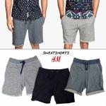 H&M SWEATSHORTS