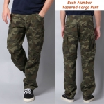 Back Number Tapered Cargo Pants