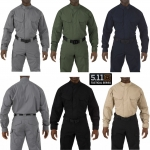 5.11 STRYKE TDU LONG SLEEVE SHIRT ( Flex-Tac stretch fabric )