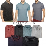 Perry Ellis Interlock Polo