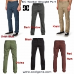 DC Worker Straight Pants