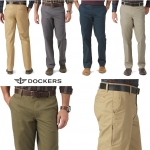 DOCKERS On The Go Khaki - Straight Fit