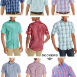 DOCKERS SHORT SLEEVE SHIRT ( No Wrinkle )