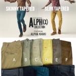 Dockers Alpha Khaki Skinny & Slim Tapered ( มาใหม่ 211257 )