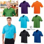 ONTOUR MEN'S ALBULA SHORT SLEEVE POLO