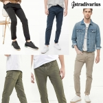 Stradivarious Vintage wash trousers