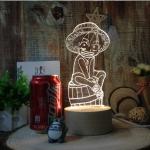 Preorder โคมไฟ 3D ลูฟี่ oNEPIECE