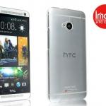 เคส HTC ONE (M7) ใส ยี่ห้อ Imak anti Scracth