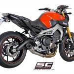SC-Project Yamaha MT09 Conic