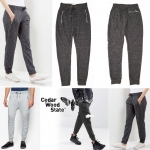 CEDAR WOOD STATE SLIM FIT ZIPPER POCKETS JOGGER