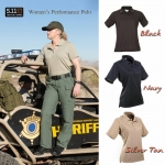 5.11 Short Sleeve Performance Polo–Women (แขนสั้น หญิง )