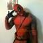 Preorder ชุดคอส Deadpool tights thumbnail 5
