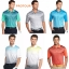 PRO TOUR Front Linear Gradient Polo Shirt thumbnail 1