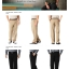 Haggar Cool 18 Flat-Front Expandable Waist Pants ( ไม่มีจีบ ) thumbnail 1