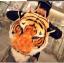 PREORDER กระเป๋าเป้สะพายหลัง หัวเสือ ส้ม thumbnail 1