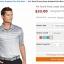 PRO TOUR Front Linear Gradient Polo Shirt thumbnail 10