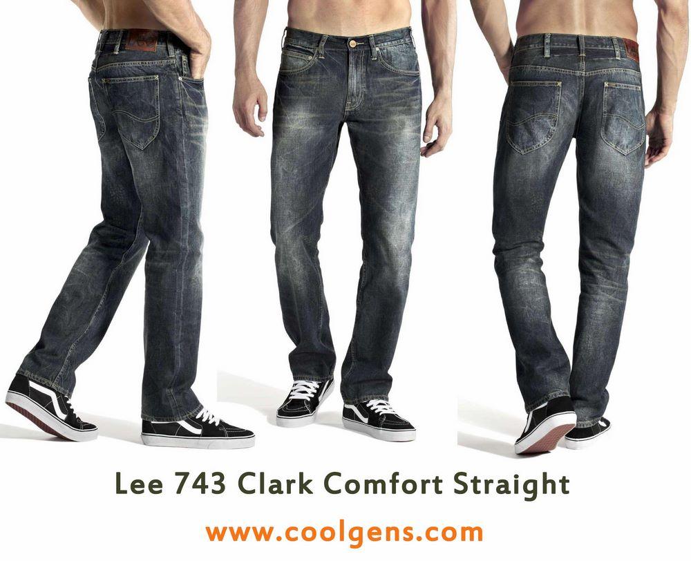 Lee 743 Clark Comfort Straight
