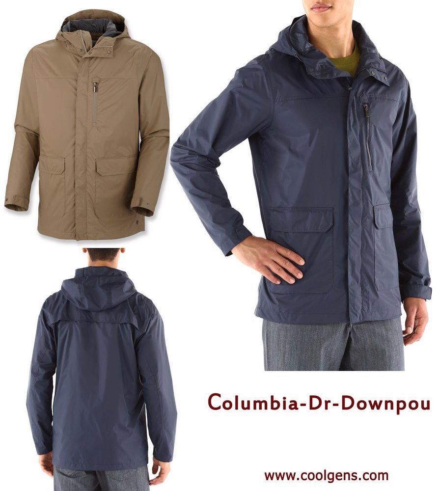 Columbia Dr. Downpour Jacket ( เสื้อกันฝน & กันลม คุณสมบัติเฟอร์เฟ็ค)