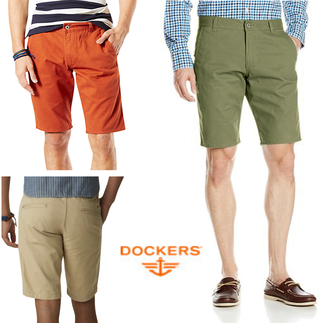 DOCKERS ALPHA SHORTS