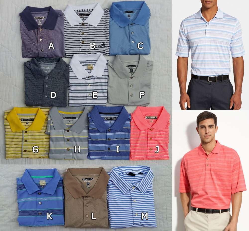 Pebble Beach® Performace design Polo