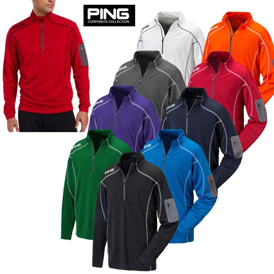 PING Ranger Pullover 1/4 Zip Polo