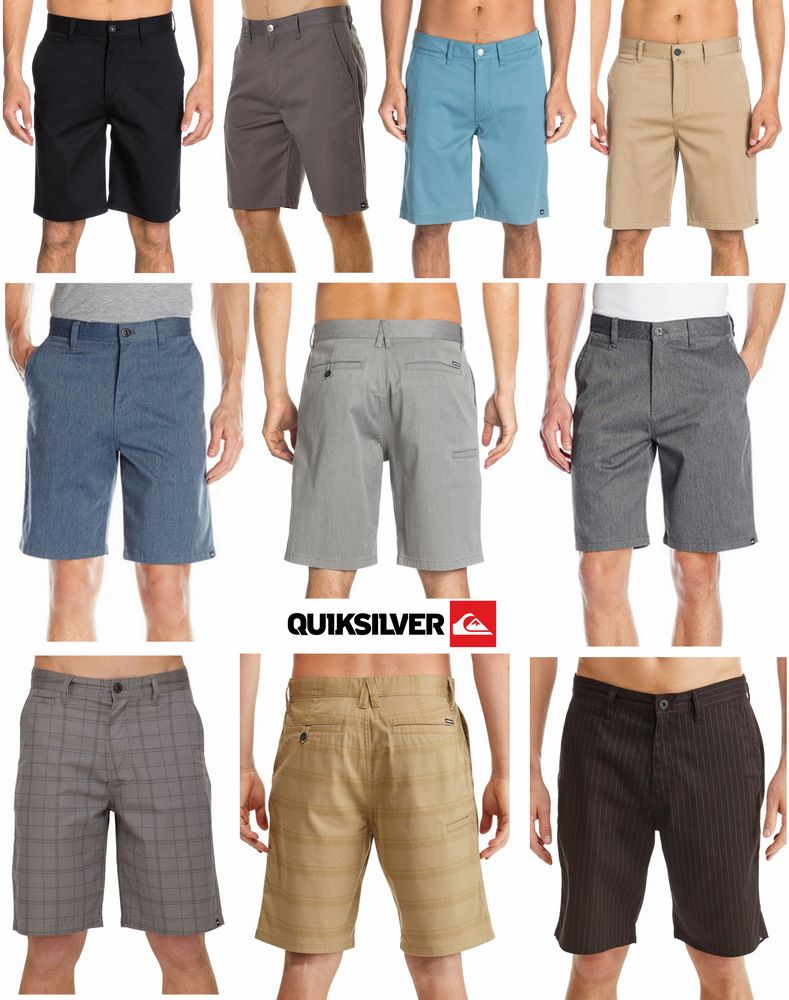 Quiksilver Union 21 & Union 22 Walks short