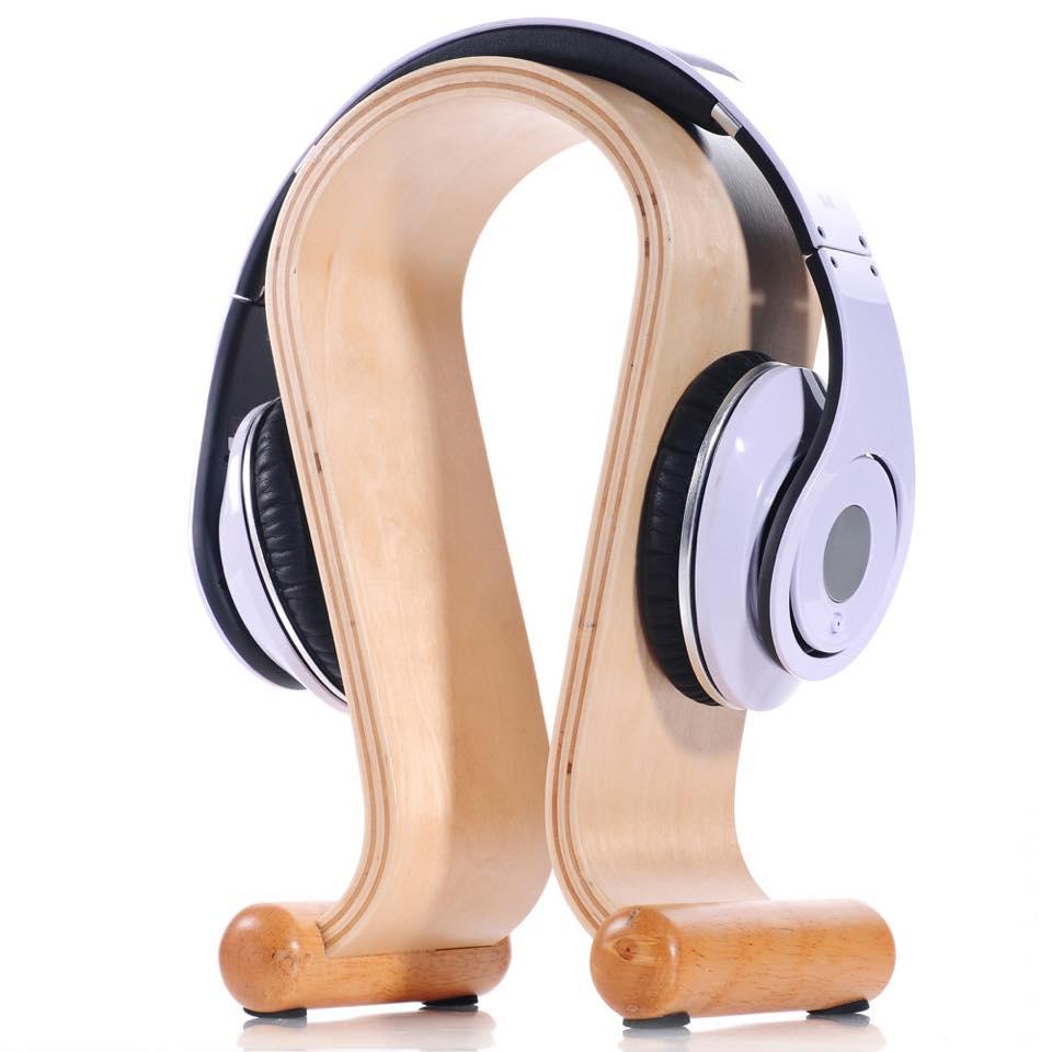 Headphone Stand Wood