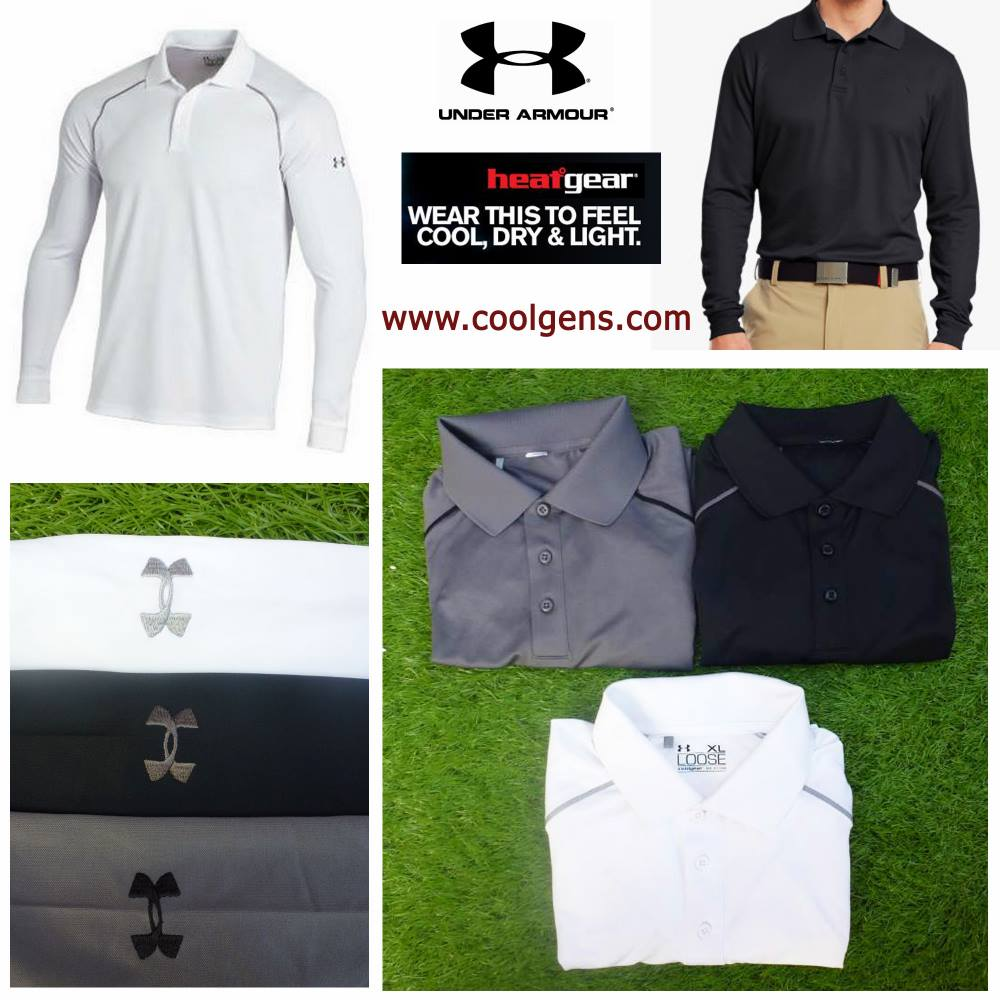 Under Armour Heatgear Long Sleeve Polo