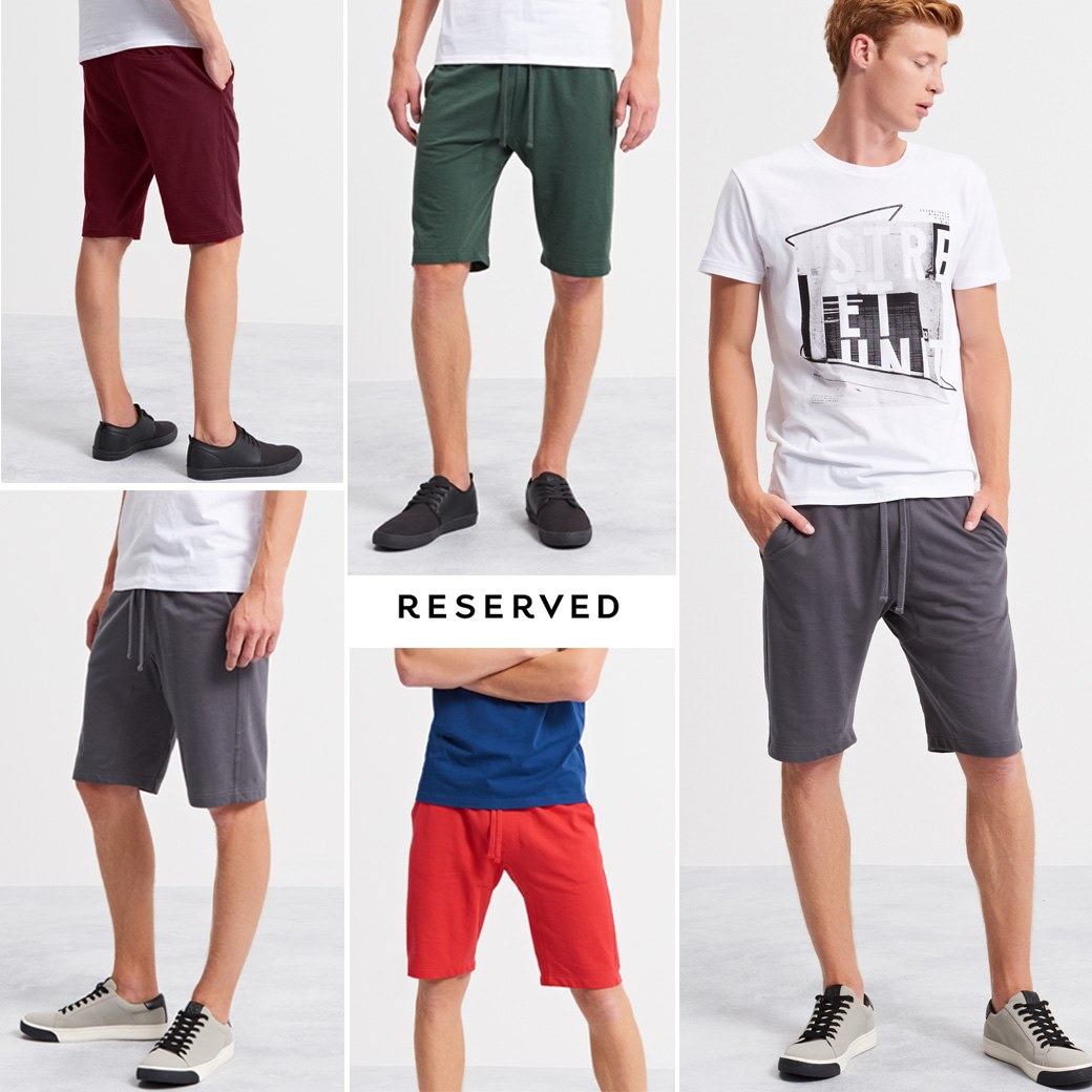 RESERVED YLF SWEAT SHORTS